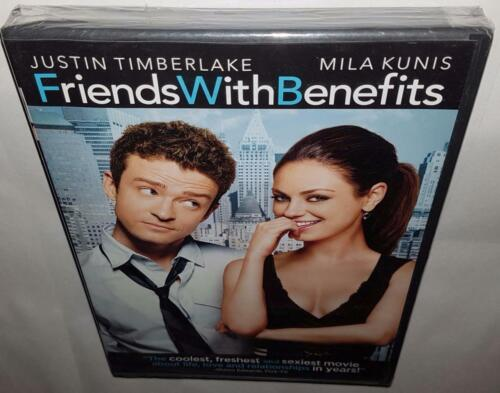 FRIENDS WITH BENEFITS (2011) BRAND NEW SEALED R1 DVD JUSTIN TIMBERLAKE