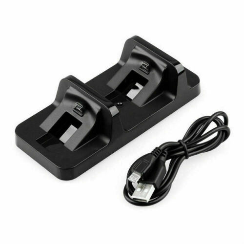 PS4 Dual Charging Charger Dock Station Stand for Playstation 4 Controller Pad AU