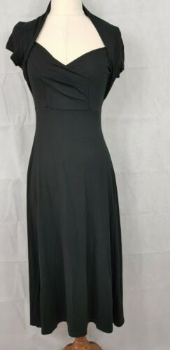 Feathers Boutique Black maxi dress, Size XS, AU 8, US 4.