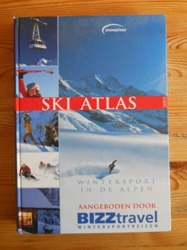 Ski Atlas 2005, Wintersport in de Alpen,hardcover, 368pp, ongelezen