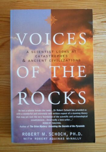 Voices of the Rocks, Schoch, R.M., Thorsons Londen 2000, paperback, 276pp