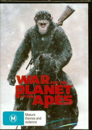 War For The Planet Of The Apes DVD NEW Region 4