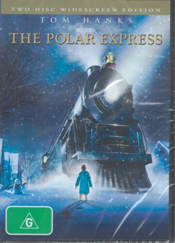 THE POLAR EXPRESS (2x DVD) Widescreen Edition Tom Hanks NEW & SEALED Free Post