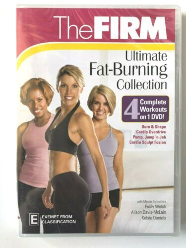 THE FIRM ~ ULTIMATE FAT-BURNING COLLECTION ~ BRAND NEW & SEALED ~ DVD ~130 MINS