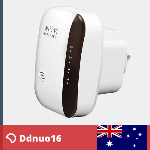 300Mbps Wireless N 802.11 AP Wifi Range Router Repeater Extender Booster OZ Plug