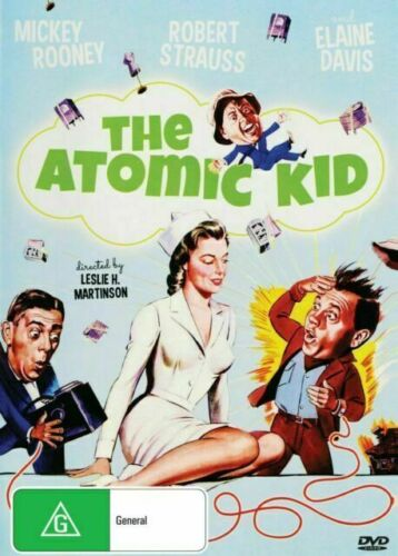 The Atomic Kid DVD Mickey Rooney New and Sealed Plays Worldwide NTSC Region All