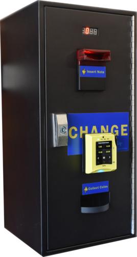 Touch card reader coin change machine ITL note reader coin hopper