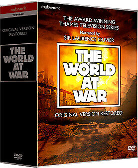 """THE WORLD AT WAR COMPLETE SERIES COLLECTION DVD BOX SET 11 DISC R4 """"NEW&SEALED"""""""