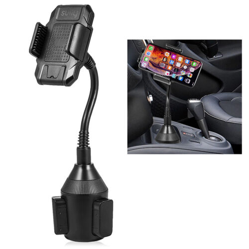 Universal Car Cup Holder Mount Accessories 360° Adjustable Mobile Phones GPS
