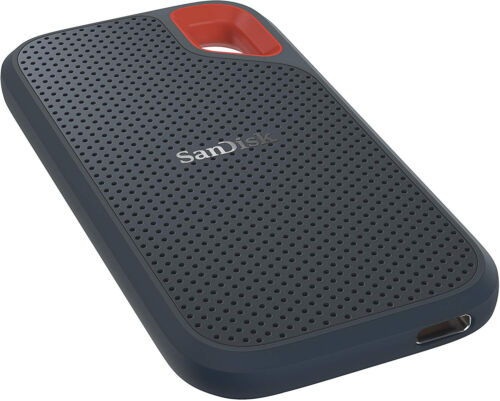 SanDisk 1TB Extreme Portable SSD USB3.1 Type-C & Type-A SDSSDE60-1T00-G25