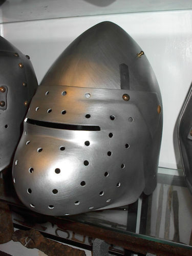 knights helmet used in unknown production larpReenactment & Reproductions - 156374