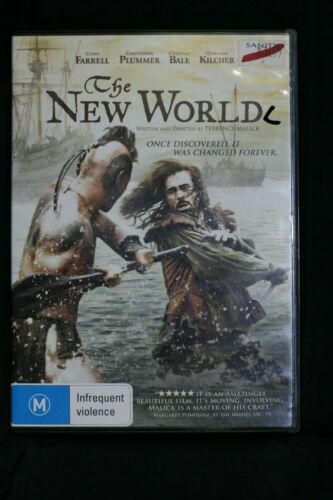 New World (DVD, 2006) Colin Farrell, Christian Bale - R4 - Pre-owned - (D164)