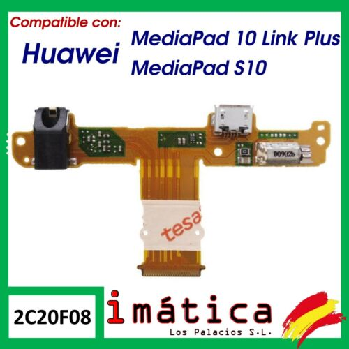 Board Charge For Huawei Mediapad 10 Link Plus/S10 Cable Flex Vibrator Audio
