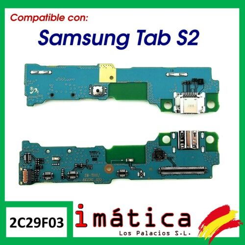 Board Charge Connector USB For Samsung Galaxy Tab S2 T810 T813 T815 Button