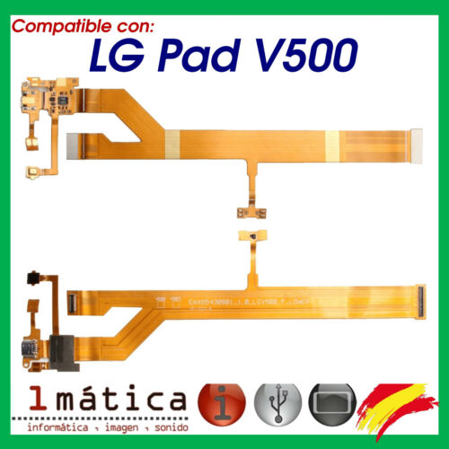 Flex Connector Charge For Tablet LG Pad V500 Port Micro USB Module Cable