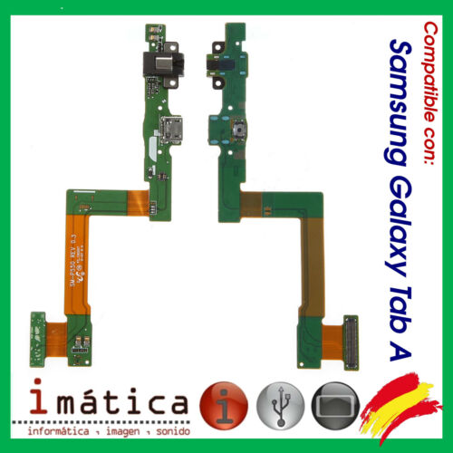 """Cable Flex Charge Data Connector USB Samsung Galaxy Tab a 9.7 """" P550 P555 Audio"""