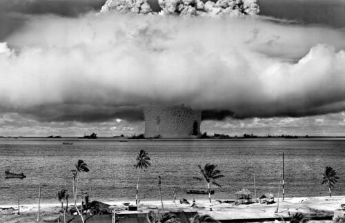 """New 13x19 Poster: Operation Crossroads - The """"Baker"""" Test Explosion Nuclear BombReproductions - 156472"""