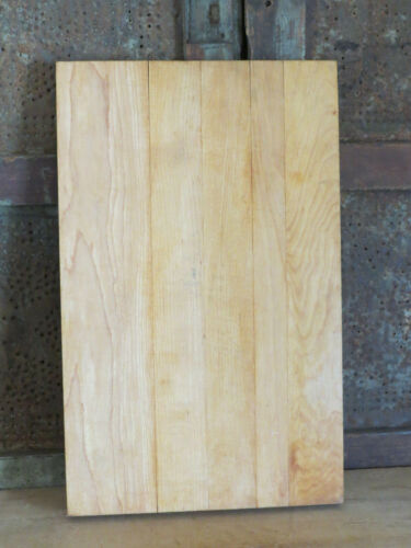 Vintage Wooden Farmhouse butcher block style Maple Cutting Board Rectangle