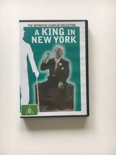 A King In New York Collection (DVD) Charlie Chaplin 1957 Rare OOP GC!