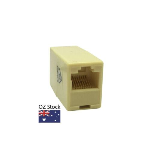 RJ45 Inline Joiner - Wired Straight Through AU Stock