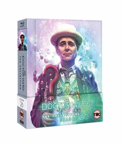 """DOCTOR WHO COLLECTION SERIES 26 LIMITED EDITION BOX SET 7 DISC BLU-RAY RB """"NEW"""""""