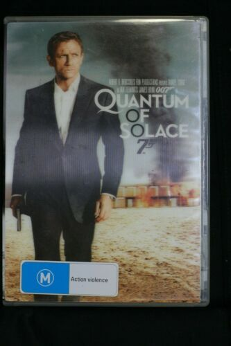 Quantum Of Solace (DVD, 2010, 2-Disc Set) 3D style cover - R 4 Pre-owned  (D220)