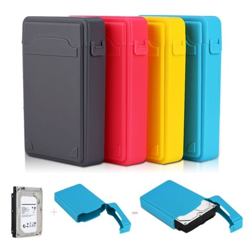 3.5in HDD SSD Protection Case Box Anti-Dust Waterproof Box Hard Drive Universal