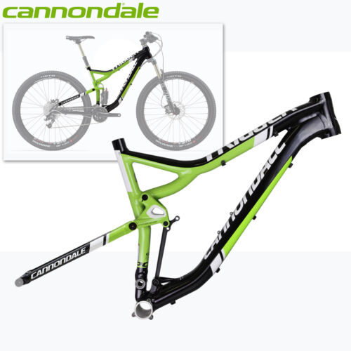 Cannondale Trigger 29er 3 2014 MTB Frame Parts (Missing chain stay) - Size Large