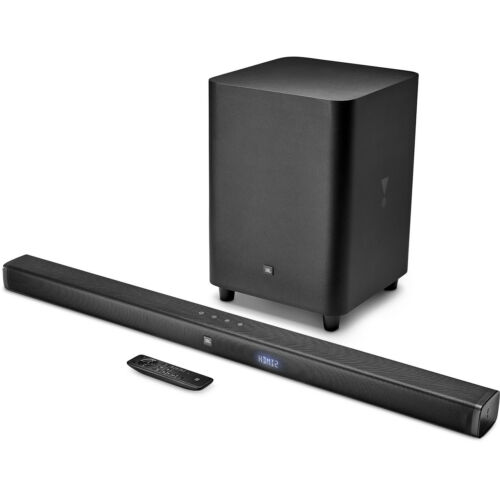 JBL Bar 3.1Ch 4K Ultra HD Soundbar with Wireless Subwoofer