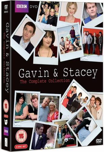 """GAVIN AND STACEY SEASON 1-3 + CHRISTMAS SPECIALS 6 DISC DVD BOX SET R4 """"NEW"""""""