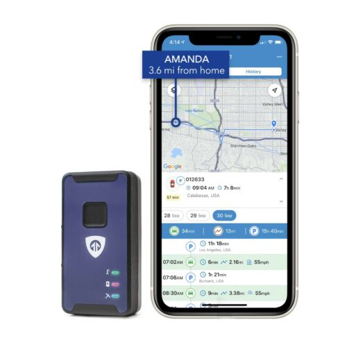 Spark Nano LTE Micro Mini GPS Tracker - North America Car Kids Family Track <br/> Apple & Android Apps! SUBSCRIPTION REQUIRED!