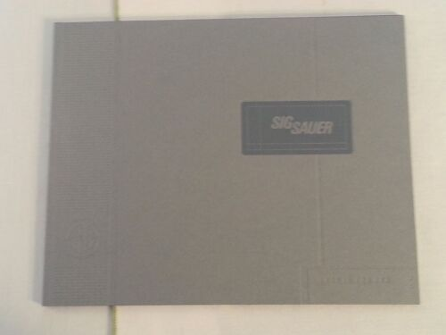 Sig Sauer Products Catalog Booklet / 2015 / Pistols Rifles / SEAL DEVGRU NSW SOFPrice Guides & Publications - 171192