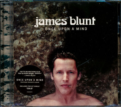 James Blunt Once Upon A Mind CD NEW The Truth Cold Champions Monsters