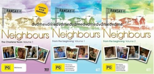 Neighbours DVD 3 Box Set Collection Charlene Years, Volume 1 &2 Brand New Sealed