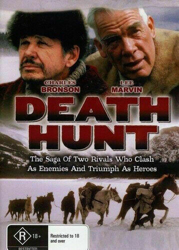 Death Hunt DVD Charles Bronson Lee Marvin New and Sealed Australian Release