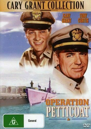 Operation Petticoat DVD Gary Grant Tony Curtis New and Sealed Australian Release