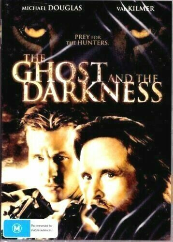 The Ghost And The Darkness DVD Michael Douglas New and Sealed Australian Release