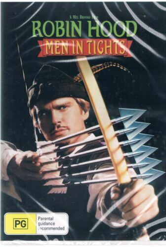 Robin Hood Men In Tights DVD New and Sealed Australian Release