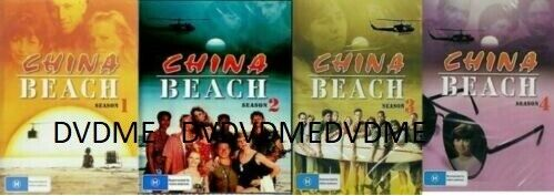 China Beach Seasons 1-4 DVD Complete Set Brand New and Sealed Australian Release