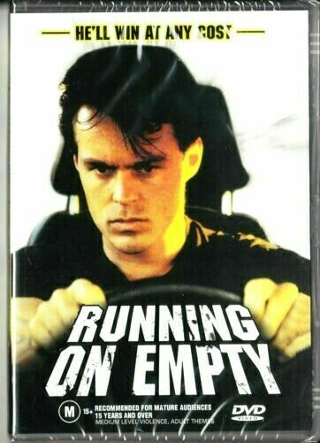 Running on Empty DVD Terry Serio New and Sealed Australian Release