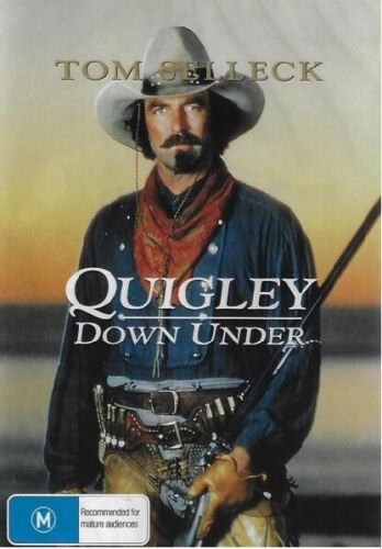 Quigley Down Under DVD Tom Selleck New and Sealed Australian Release