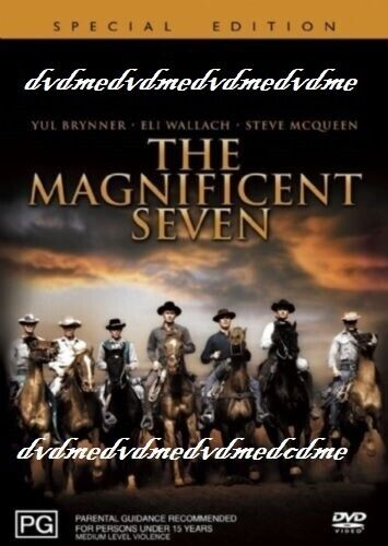 The Magnificent Seven DVD New and Sealed Australian Release