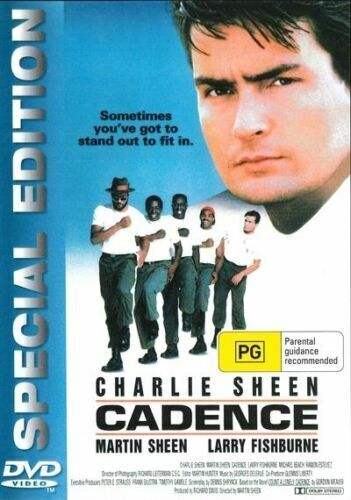 Cadence DVD Charlie Sheen New and Sealed Australian Release