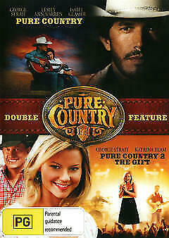 Pure Country / Pure Country 2 The Gift DVD New and Sealed Australian Release