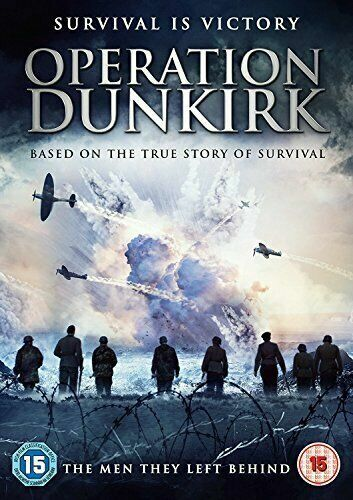 Operation Dunkirk War Story DVD New and Sealed Australian Release
