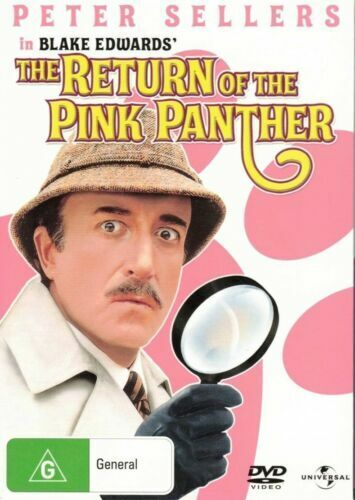 The Return Of The Pink Panther DVD Peter Sellers Brand New and Sealed Australia
