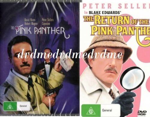 The Pink Panther & Return Of 2 DVD Set Peter Sellers Brand New &Sealed AUS