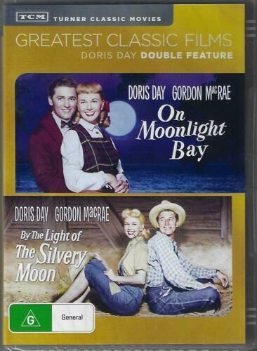 On Moonlight Bay / By The Light Bay of the Silvery Moon DVD Doris Day New AUS