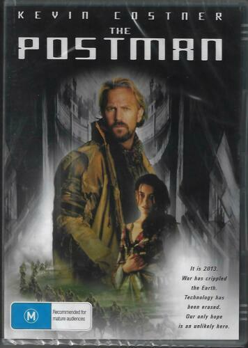 The Postman DVD Kevin Costner Brand New and Sealed Australian Release