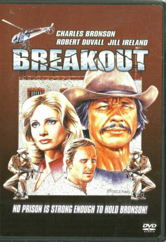 Breakout DVD Charles Bronson Brand New and Sealed Australian Release